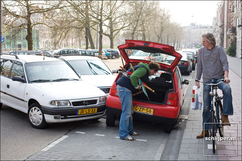 Nederland, Amsterdam, 31 maart 2007