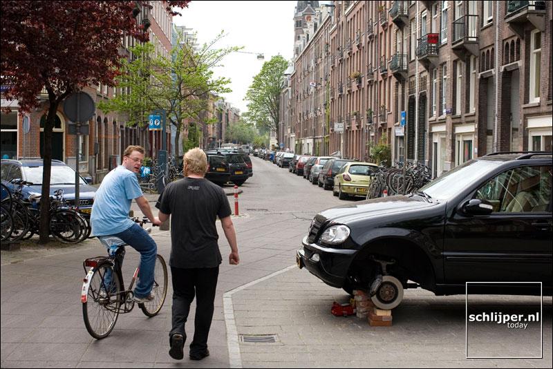 Nederland, Amsterdam, 24 april 2007