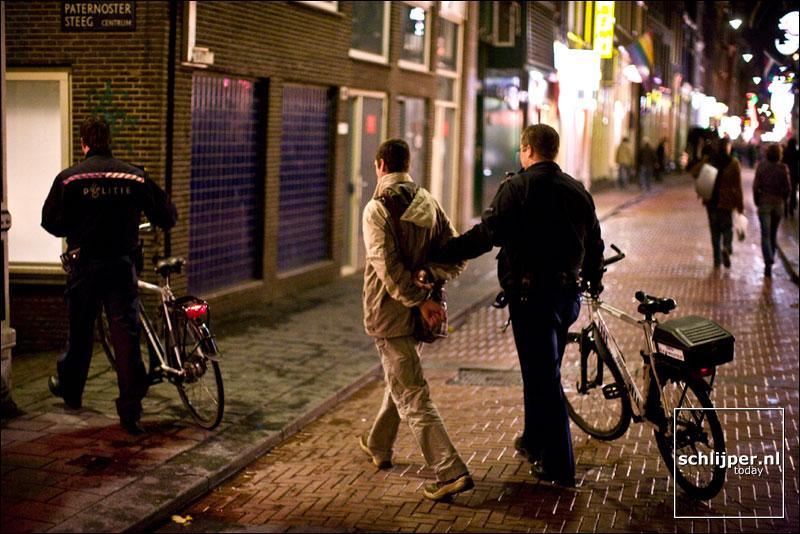 Nederland, Amsterdam, 7 november 2007