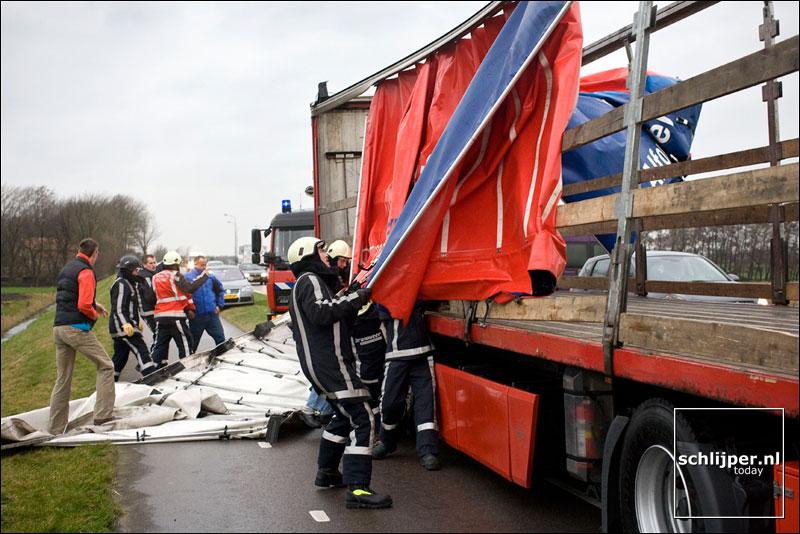 Nederland, Schagen, 31 januari 2008