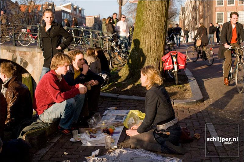 Nederland, Amsterdam 9 februari 2008