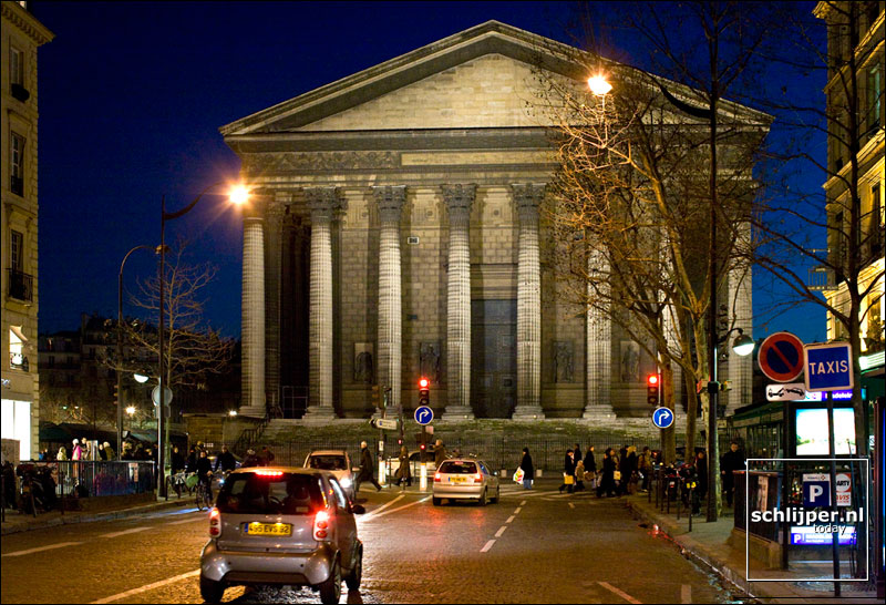 Frankrijk, Parijs, 16 februari 2008