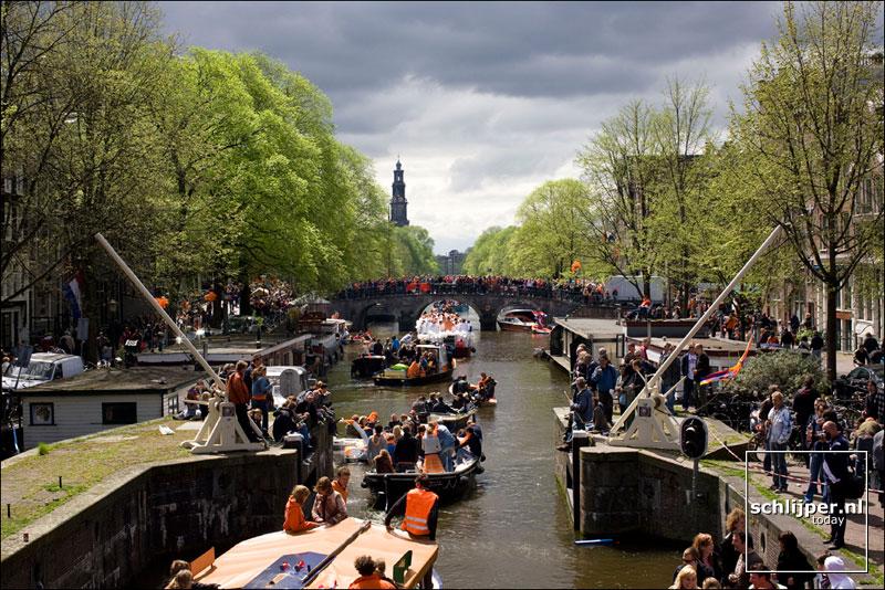 Nederland, Amsterdam, 30 april 2008