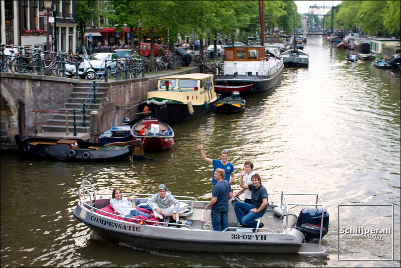 Nederland, Amsterdam, 6 juni 2008