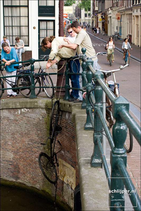 Nederland, Amsterdam, 7 juni 2008