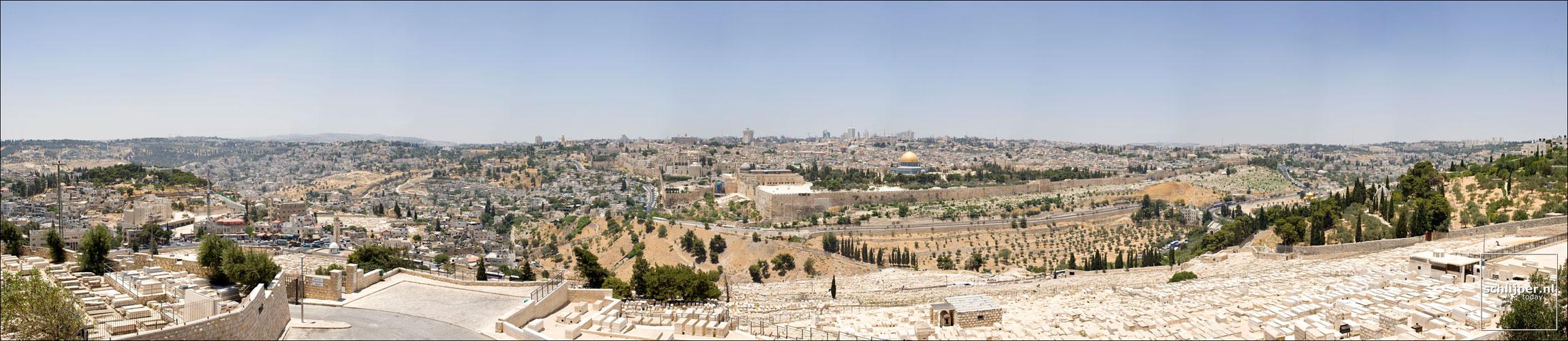 Israel, Jeruzalem, 18 juni 2008