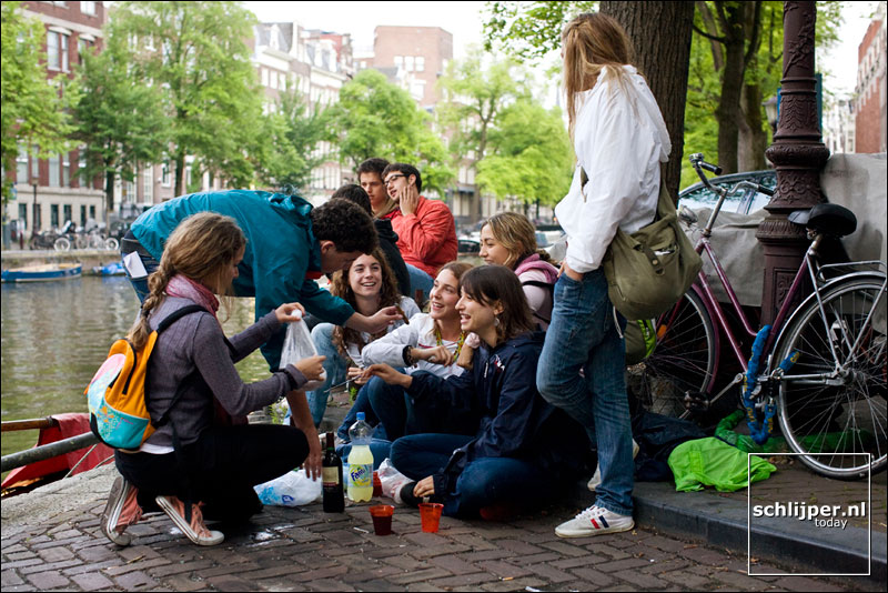 Nederland, Amsterdam, 6 juli 2008