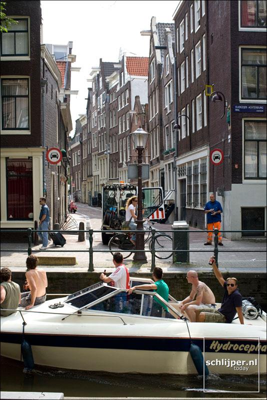 Nederland, Amsterdam, 30 juli 2008