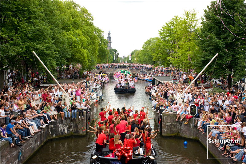 Nederland, Amsterdam, 2 augustus 2008
