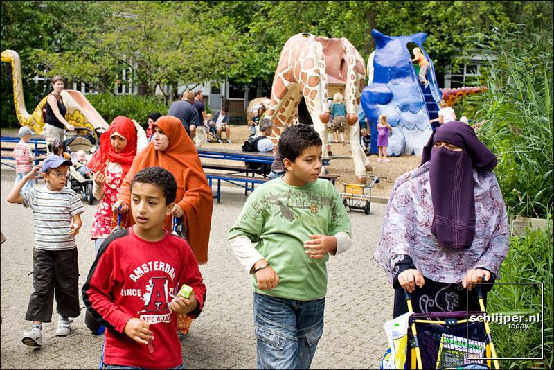 Nederland, Amsterdam, 9 augustus 2008