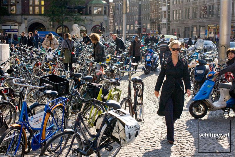 Nederland, Amsterdam, 3 oktober 2008