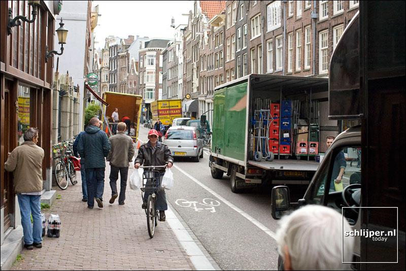 Nederland, Amsterdam, 6 oktober 2008