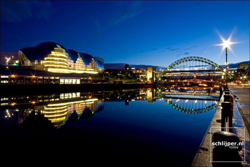 United Kingdom, Newcastle, 7 oktober 2008