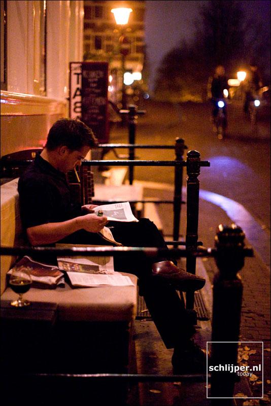 Nederland, Amsterdam, 20 oktober 2008