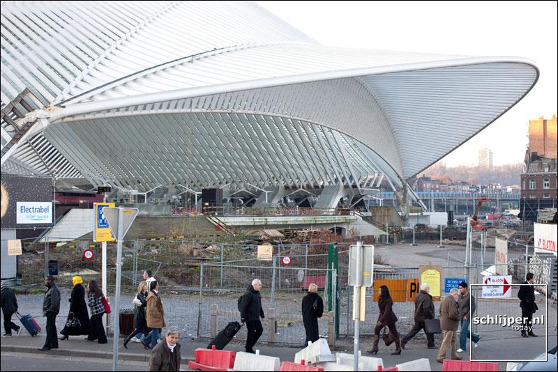 Belgie, Luik, 27 december 2008
