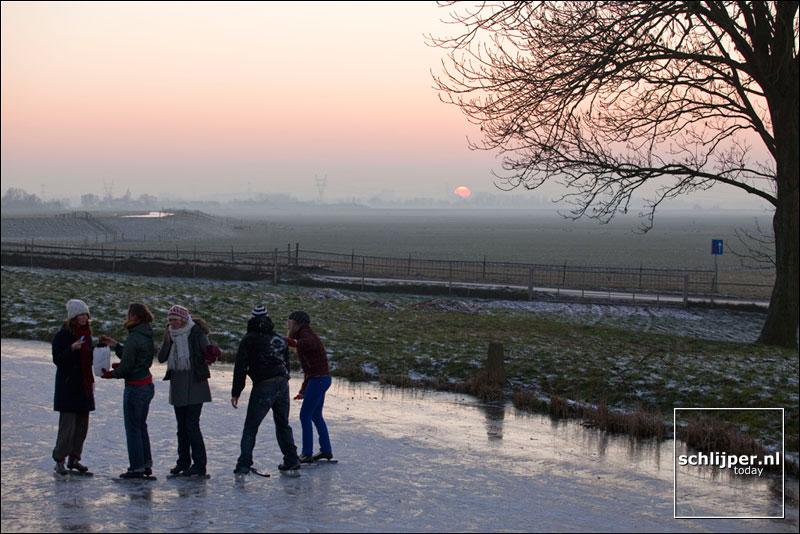 Nederland, Broek in Waterland, 30 december 2008