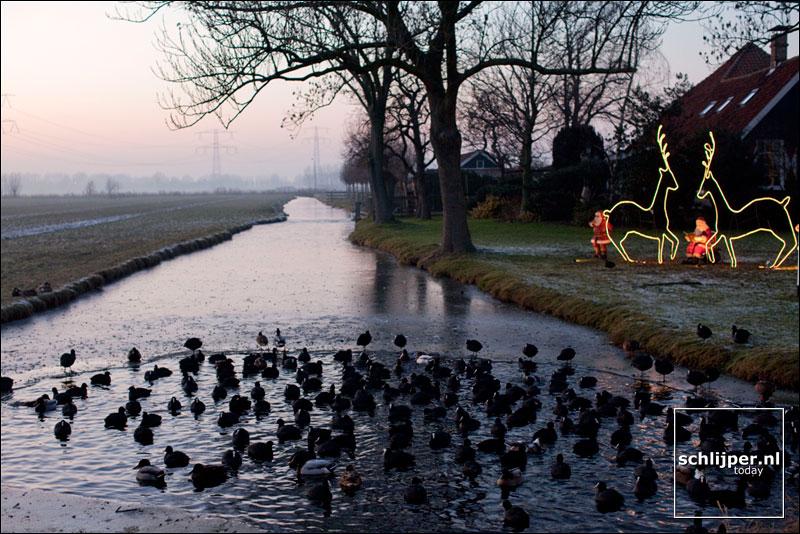 Nederland, Zunderdorp, 30 december 2008