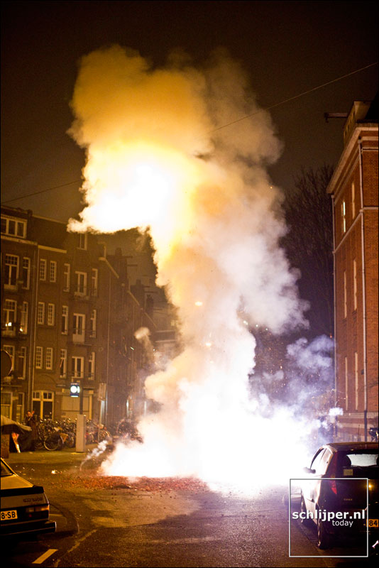 Nederland, Amsterdam, 1 januari 2009