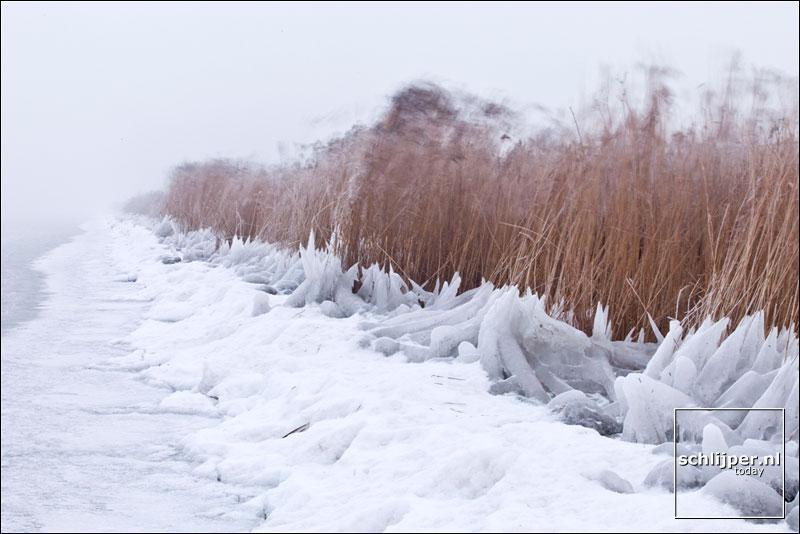 Nederland, Marken, 8 januari 2009