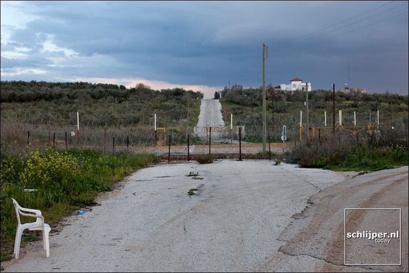 Israel, tussen Bachan en Shuweika, 17 februari 2009