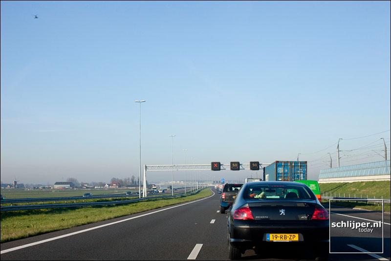 Nederland, Roelofarendsveen, 31 maart 2009