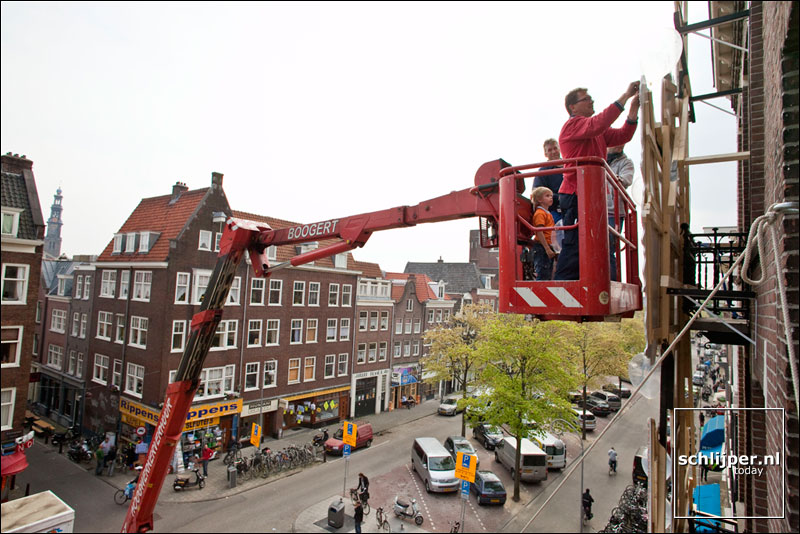Nederland, Amsterdam, 29 april 2009