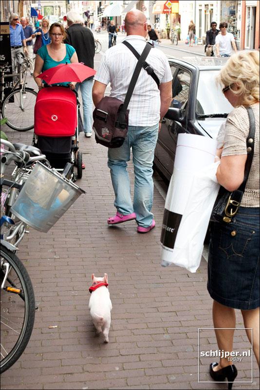 Nederland, Amsterdam, 3augustus 2009