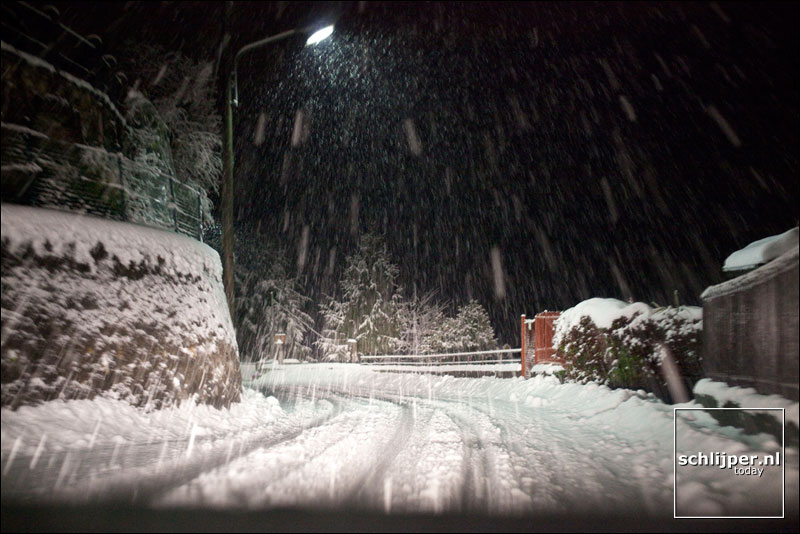 Italië, Colmegna, 22 december 2009