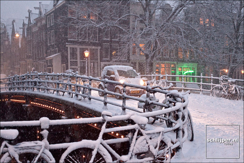 Nederland, Amsterdam, 6 januari 2010