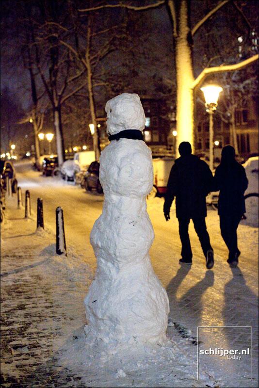 Nederland, Amsterdam, 6 januari 2010