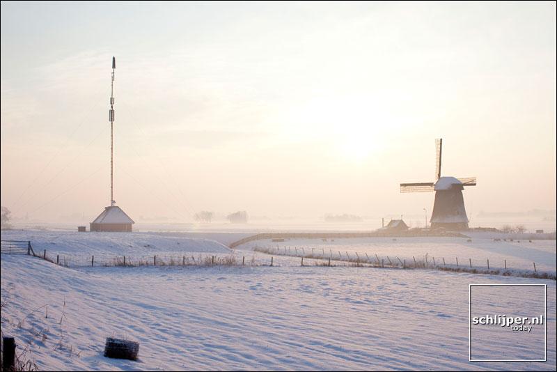 Nederland, Ursem, 7 januari 2010