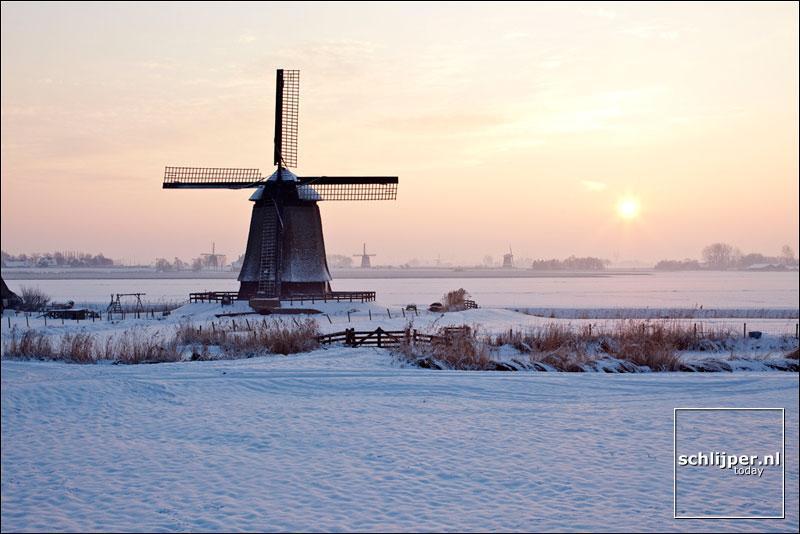 Nederland, Schermerhorn, 7 januari 2010