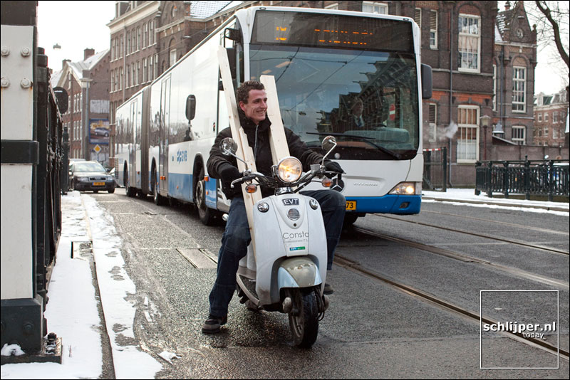 Nederland, Amsterdam, 10 februari 2010