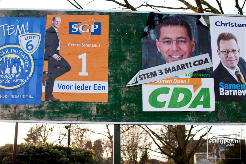 Nederland, De Glind, 7 maart 2010