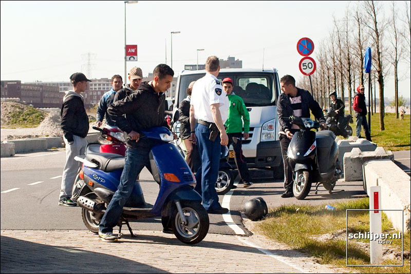 Nederland, Amsterdam, 17 april 2010