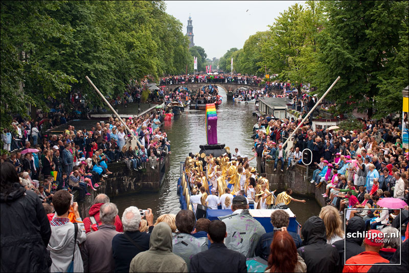 Nederland, Amsterdam, 7 augustus 2010