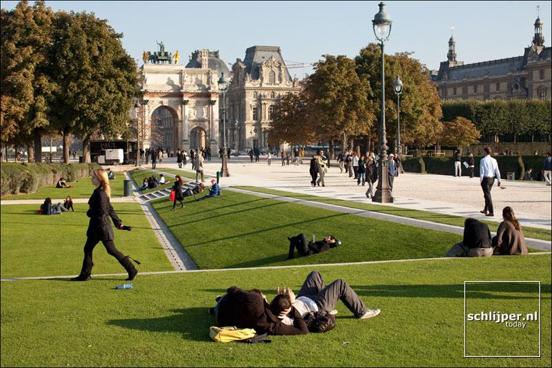Frankrijk, Parijs, 12 oktober 2010