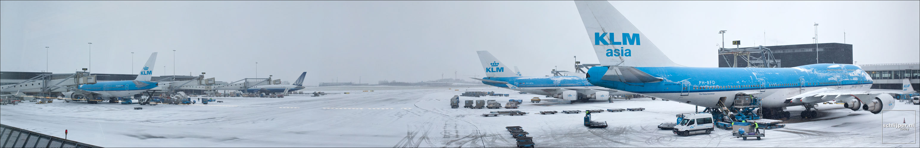Nederland, Schiphol, 2 december 2010