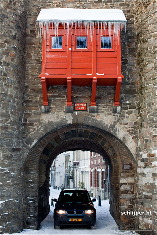 Nederland, Maastricht, 25 december 2010