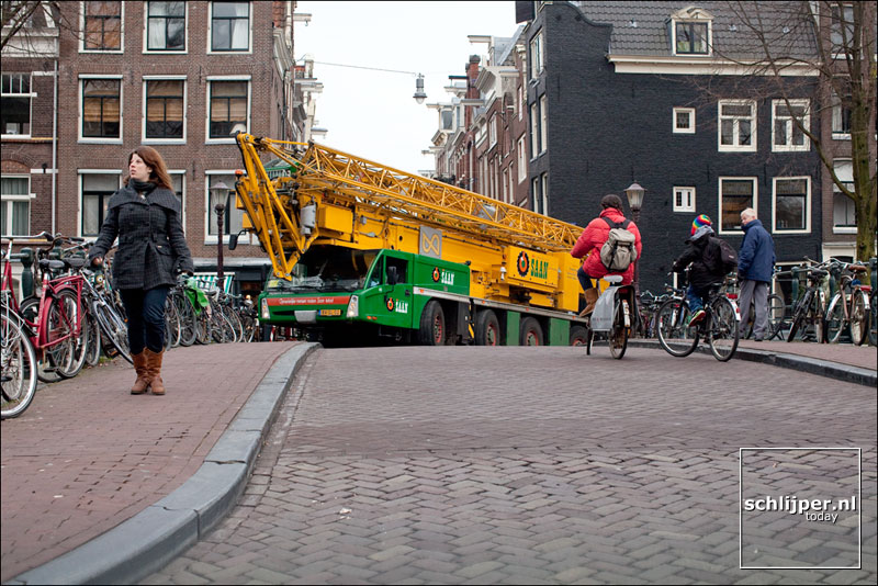 Nederland, Amsterdam, 31 januari 2011