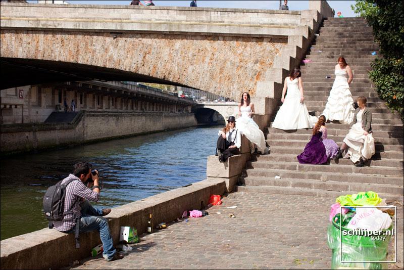 Frankrijk, Parijs, 10 april 2011