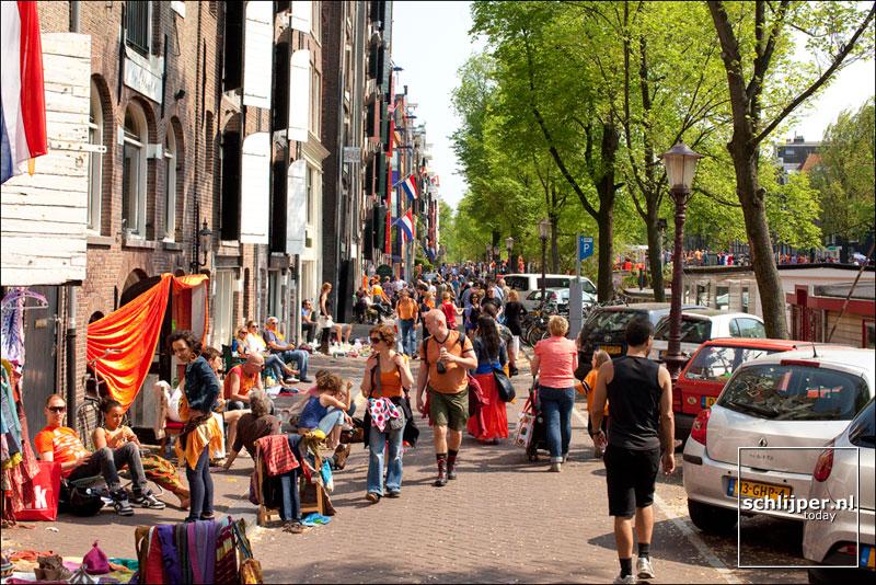 Nederland, Amsterdam, 30 april 2011
