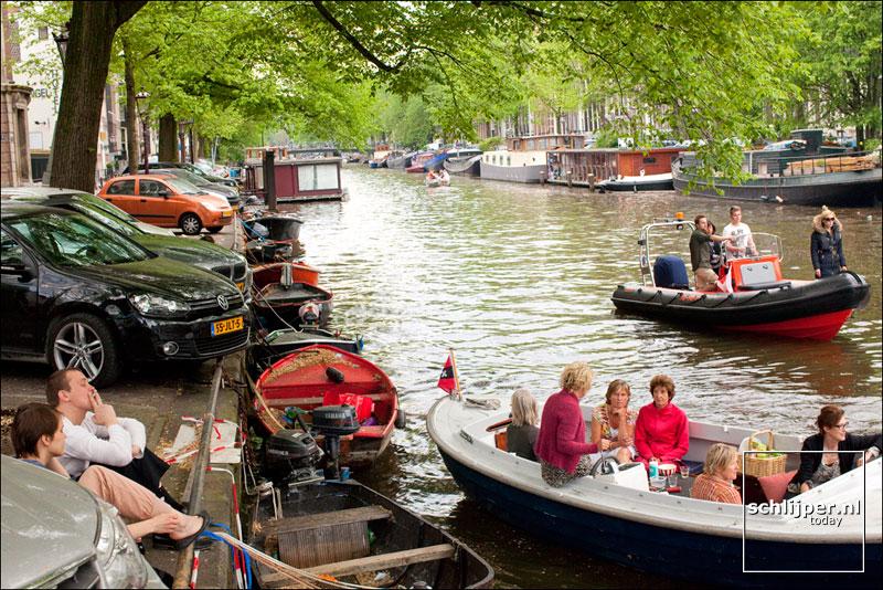 Nederland, Amsterdam, 8 mei 2011