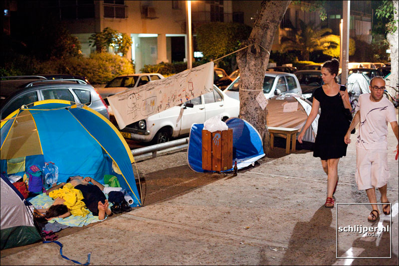 Israel, Tel Aviv, 4 augustus 2011