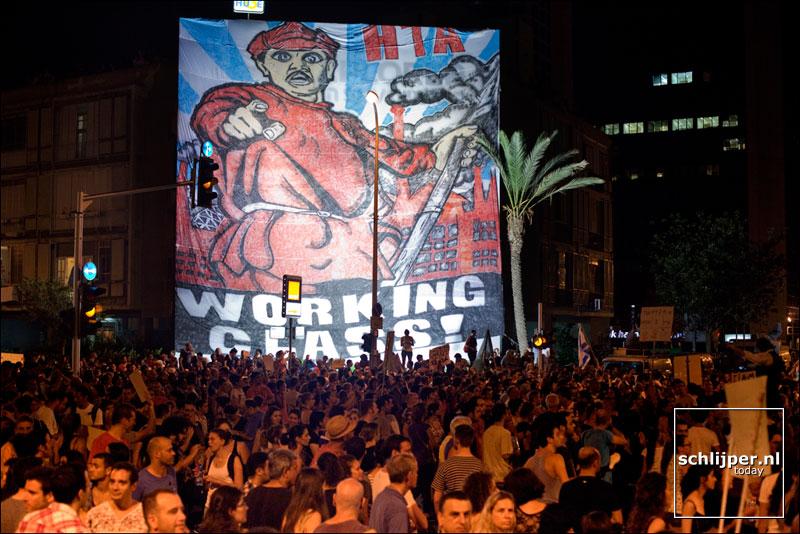 Israel, Tel Aviv, 6 augustus 2011