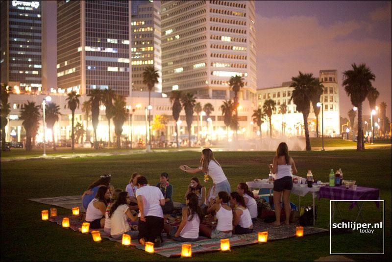 Israel, Tel Aviv, 10 augustus 2011