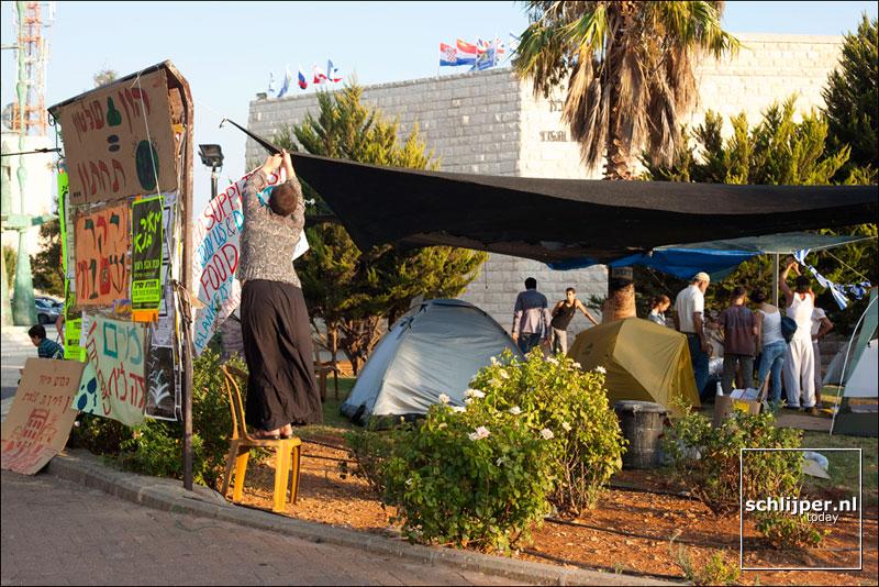 Israel, Tel Aviv, 14 augustus 2011