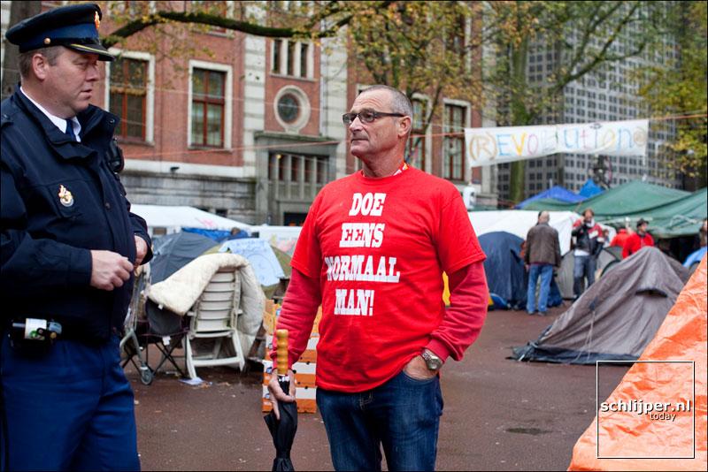 Nederland, Amsterdam, 19 oktober 2011