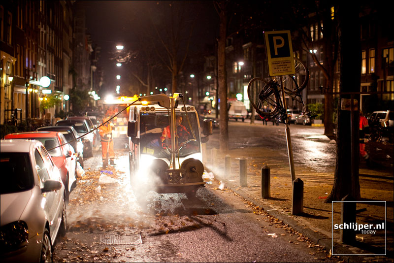 Nederland, Amsterdam, 5 november 2011