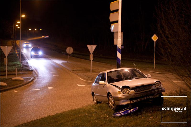 Nederland, Stein, Stadhouderslaan, 24 december 2011